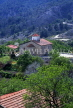 CYPRUS, Troodos Mountain scenery, AGROS village and stone built church, CYP352JPL