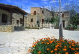 CYPRUS, traditional villages, AIYA ANNA (North Larnaca), stone built houses, CYP314JPL