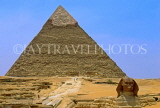 EGYPT, Giza, Pyramid and The Sphinx, EGY147JPL