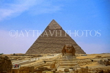 EGYPT, Giza, Pyramid and The Sphinx, EGY149JPL