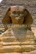 EGYPT, Giza, The Sphinx (close-up), EGY142JPL