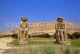 EGYPT, Luxor, Valley of the Kings, Colossi of Memnon, EGY18JPL