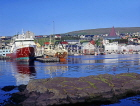 FAROE ISLANDS, Streymoy, Torshavn, waterfront, and boat repair yard, FAR66JPL
