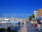FRANCE, Languedoc-Roussillon, CAP DAGDE, resort waterfront, and marina, yachts, FRA34JPL
