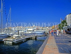 FRANCE, Languedoc-Roussillon, CAP DAGDE, resort waterfront, and marina, yachts, FRA35JPL