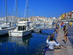 FRANCE, Languedoc-Roussillon, CAP DAGDE, resort waterfront, and marina, yachts, FRA39JPL