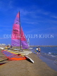 FRANCE, Languedoc-Roussillon, LA GRANDE MOTTE, beach and sailboats, watersports, FRA401JPL