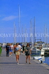 FRANCE, Languedoc-Roussillon, LA GRANDE MOTTE, resort centre and waterfront, FRA562JPL