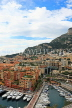 FRANCE, Provence, Cote d'Azure, MONACO, Fontvieille harbour and yachting marina, FRA2385JPL