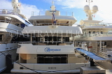 FRANCE, Provence, Cote d'Azure, MONACO, harbour and marina, luxury yachts, FRA2393JPL
