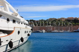 FRANCE, Provence, Cote d'Azure, MONACO, harbourfront and luxury yacht, FRA2510JPL