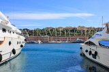 FRANCE, Provence, Cote d'Azure, MONACO, harbourfront and luxury yachts, FRA2508JPL