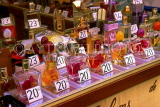 FRANCE, Provence, Cote d'Azure, NICE, Old Town, Place Charles Felix, market stall, perfumes, FRA466JPL