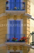 FRANCE, Provence, Cote d'Azure, NICE, Old Town house balconies, FRA320JPL