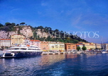 FRANCE, Provence, Cote d'Azure, NICE, Port and waterfront, Bassin Lympia, FRA254JPL