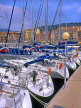 FRANCE, Provence, Cote d'Azure, NICE, Port and yachts, Bassin Lympia, FRA256JPL