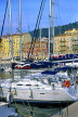 FRANCE, Provence, Cote d'Azure, NICE, Port and yachts, Bassin Lympia, FRA276JPL