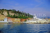 FRANCE, Provence, Cote d'Azure, NICE, port and waterfront, Bassin Lympia, FRA282JPL