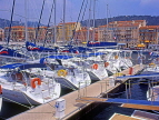 FRANCE, Provence, Cote d'Azure, NICE, port and yachts, Bassin Lympia, FRA257JPL
