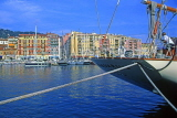FRANCE, Provence, Cote d'Azure, NICE, port and yachts, Bassin Lympia, FRA278JPL