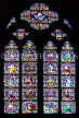 France, PARIS, Notre Dame Cathedral, stained glass window, FRA1609JPL
