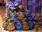 GAMBIA, crafts, dolls hand made with Batik cloths, GAM893JPL