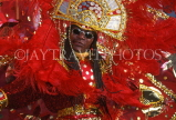 GRENADA, Carnival, carnival parade costumed dancer, GRE316JPL