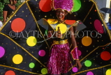 GRENADA, Carnival, carnival parade costumed dancer, GRE322JPL