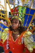 GRENADA, Carnival, carnival parade costumed dancer, GRE325JPL