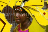 GRENADA, Carnival, carnival parade costumed dancer, GRE339JPL