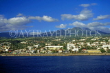 GUADELOUPE, Basse-Terre town, view from sea, CAR1281JPL