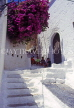 Greek Islands, CORFU, whitewashed house steps and children, GIC742JPL