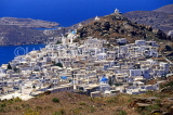 Greek Islands, IOS, town view, with whitewashed houses, GIS606JPL