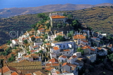 Greek Islands, KEA, Loulidha, hill top town view and houses, GIS684JPL