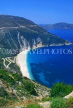 Greek Islands, KEPHALONIA, Myrtos Beach, view from hill top, GIS1138JPL