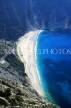 Greek Islands, KEPHALONIA, Myrtos Beach, view from hill top, GIS122JPL