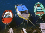 Greek Islands, KOS, Kardamena, three fishing boats, GIS1026JPL
