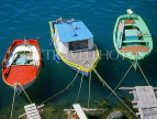 Greek Islands, KOS, Kardamena, three fishing boats, GIS1220JPL