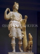 Greek Islands, KOS, Kos Town Museum, marble statue of Artemis with dog, GIS1065JPL