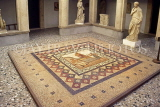 Greek Islands, KOS, Kos Town Museum, mosaic floor, Hippocrates welcoming Asclepios, GIS1235JPL