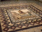 Greek Islands, KOS, Kos Town Museum, mosaic floor, Hippocrates welcoming Asclepios, GIS191JPL