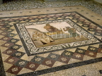 Greek Islands, KOS, Kos Town Museum, mosaic floor, Hippocrates welcoming Asclepios, GIS191JPLA
