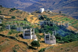 Greek Islands, TINOS, countryside and pigeon houses (dovecots), GIS582JPL
