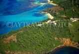 Grenadines, MUSTIQUE, aerial view, GR33JPL