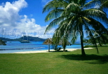 Grenadines, PETIT ST VINCENT, island and sea view, GR85JPL