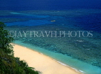 Grenadines, TOBAGO CAYS, beach and seascape with coral, CAR1243JPL