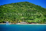 Grenadines, UNION ISLAND, view from sea, GR18JPL