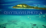 Grenadines, aerial view of an island, GR41JPL
