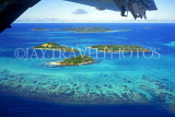 Grenadines, aerial view of islets, GR43JPL