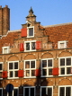 HOLLAND, Amsterdam, typical gabled architecture, houses,  HOL680JPL